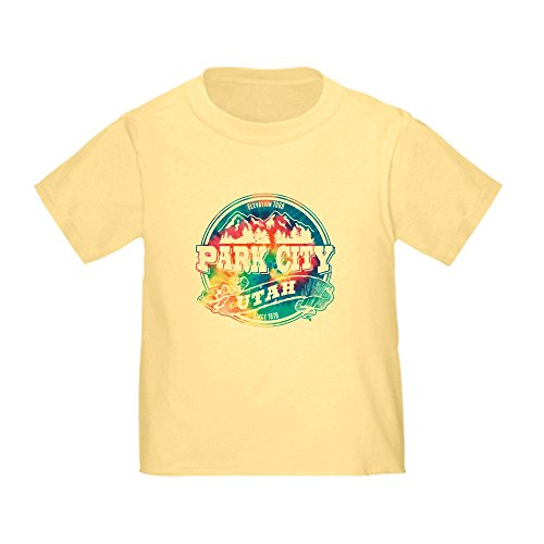(CafePress Park City Old Circle Toddler T-Shirt Cute Toddler T-Shirt, 100% Cotton Daffodil Yellow)