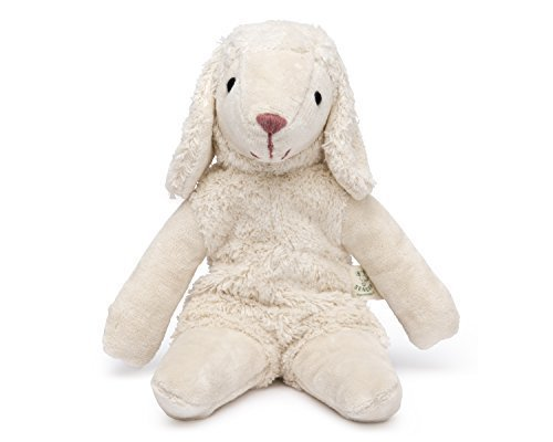 Senger Stuffed Animal - Lamb - Handmade 100% Organic Cotton (White - 12 Inches Tall) by Senger