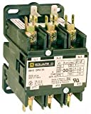 SCHNEIDER ELECTRIC 8910DPA33V09 Contactor 600-Vac 30-Amp Dpa Plus Options Electrical Box