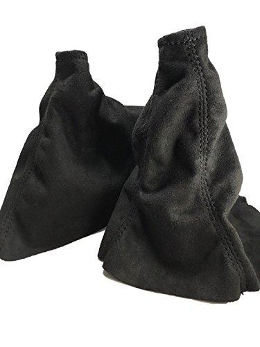 - For 05-07 Subaru Impreza Wrx and STI Shift and E Brake Boots Black Suede Black Stitch