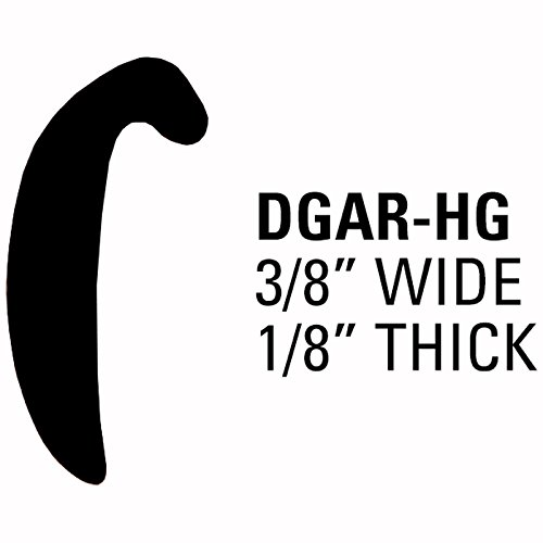 CHARCOAL 40 Dawn Enterprises DGAR16-HG Door Edge Guard