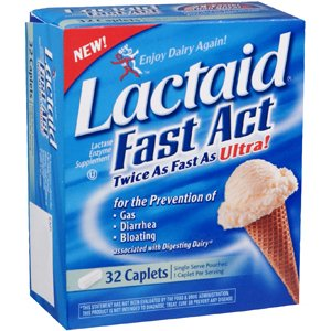 LACTAID FAST ACT 32 CAPLET by J&J CONSUMER SECTOR ***