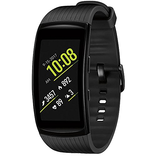 Samsung Gear Fit2 Pro Fitness Smartwatch - Black, Large (SM-R365NZKAXAR) + Fusion Bluetooth Headphones + Gear Black Jacket Case + 1 Year Extended Warranty by Beach Camera (Image #1)