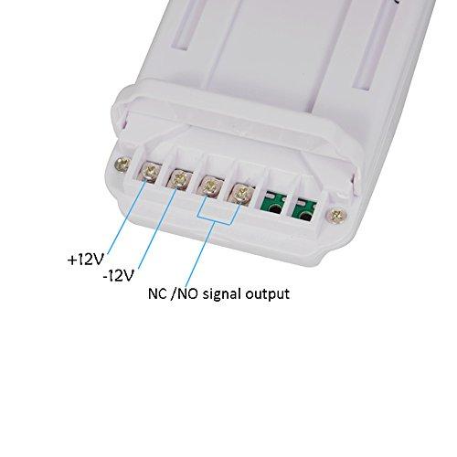 Gas Leak Detector High Sensitivity White 12V Combustible Gas Leak LPG Natural Gas Detector Propane Alarm by Liushuliang (Image #6)