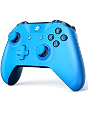$59 » W&O Wireless Game Controller Compatible with Xbox One and Xbox One S/X, Compatible with Windows 7/8/10 (Blue)
