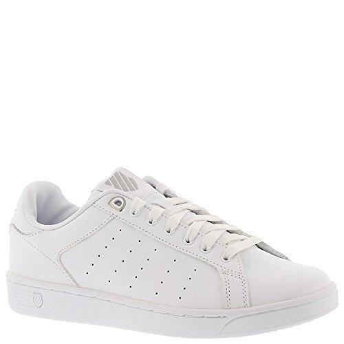 K-swiss Womens Womens Corte Fashion Sneaker Bianco-grigio