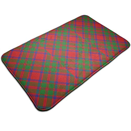 Mackintosh Throw - Scots Style Clan Mackintosh Tartan Plaid Throw Area Ground Mat Restroom Kitchen Bathroom Accent Floor Party Carpet Outside Door Set Decor Welcome Entryway Rug Sign Celebrate Decorations Ornament