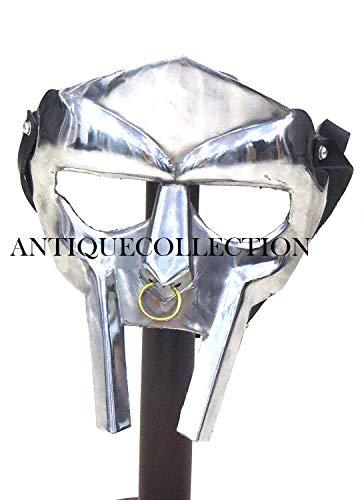 MF Doom Rapper Madvillain Gladiator Mask -
