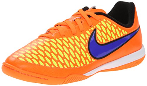 Nike Jr. Magista Onda Ic - Zapatillas de fútbol Unisex Niños - orange - gelb - rosa - violett
