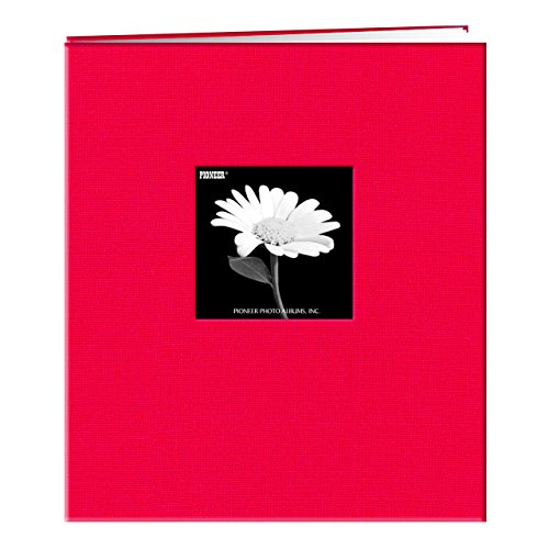 Pioneer MB-811CBF 8 1/2 Inch by 11 Inch Postbound Frame Cover Memory Book, Apple ()