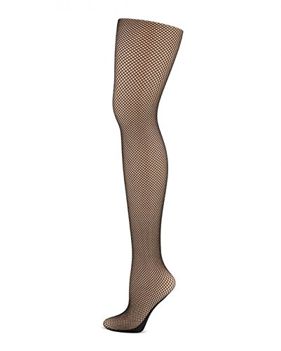 Capezio womens Professional Fishnet Tight with Seams 3400 XL Black