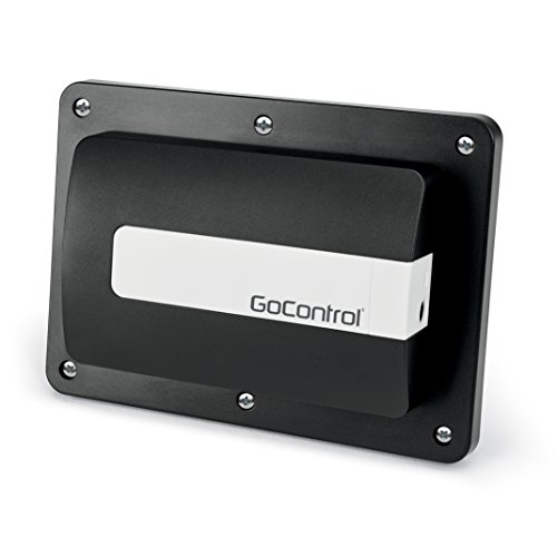 2gig GD00Z-5 Z-Wave Garage Opener Door Contact Sensor, Black