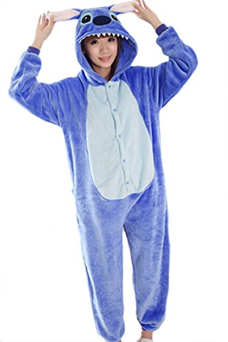 Cosplay Halloween Romper Costume Party Pajamas Stitch Onesie
