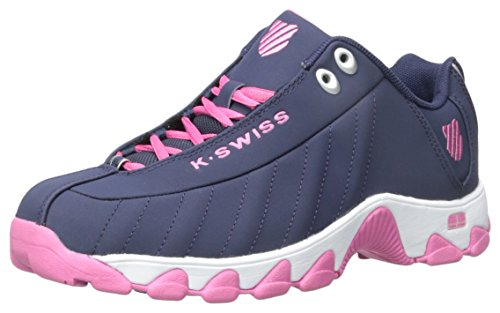 with paypal free shipping free shipping shopping online K-Swiss Women's ST329 CMF Training Shoe Navy/Shocking Pink buy cheap high quality 4exr8