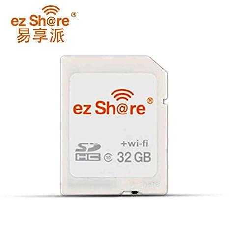 WiFi SD Card Ez - Tarjeta Flash DE 16 G y 32 G (Capacidad Sdhc ...