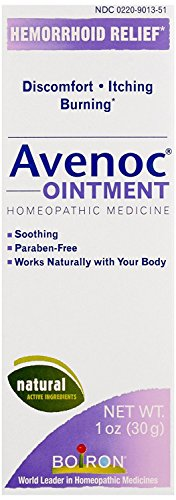 Hemorrhoid Care (Boiron Avenoc Ointment, 1 Ounce, Homeopathic Medicine for Hemorrhoids)