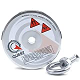 1333lb Fishing Magnet - Super Strong Pull Force