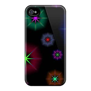 Brand New 6 Defender Cases For Iphone (colorful Stars)