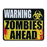 Warning Zombies Ahead Auto-home Car Magnet