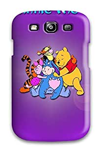 Top Quality Rugged Winnie The Pooh For Desktop Case Cover For Galaxy S3