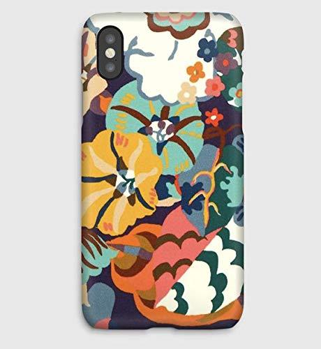 Liberty Gatsby Garden T, Funda para el iPhone XS, XS Max, XR, X, 8, 8+, 7, 7+, 6S, 6, 6S+, 6+, 5C, 5, 5S, 5SE, 4S, 4,