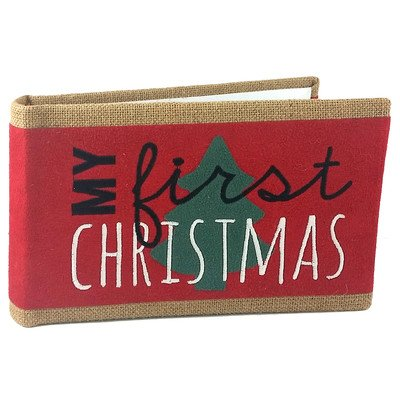 Buy Fetco Home Décor Burlap With Holiday Photo Albums Brimley First