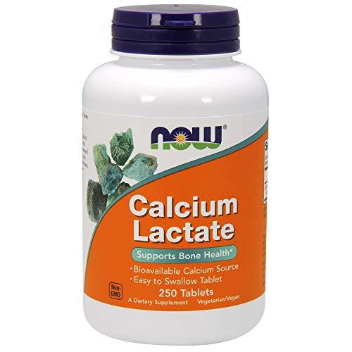 Now Supplements, Calcium Lactate, 250 Tablets