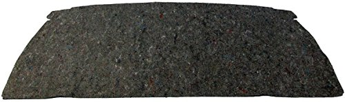Package Tray Insulation Grey Jute For 1965-66 Chevy 2 Door Hardtop Made in ()