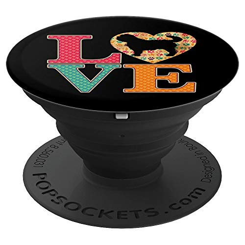 (Affenpinscher Gifts Love Affenpinscher Dogs - PopSockets Grip and Stand for Phones and Tablets)