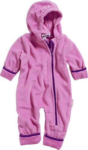 Playshoes Unisex Baby Schneeanzug Fleeceoverall, Fleeceanzug, Oeko Tex Standard 100, Gr. 80, Rosa (pink 18)