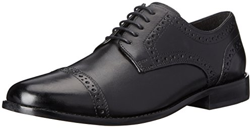 Nunn Bush Men's Norcross Cap Toe Oxford Dress Casual Lace Up , Black , 10.5 M ()