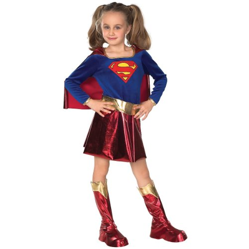 Deluxe Supergirl Child Costume - Small