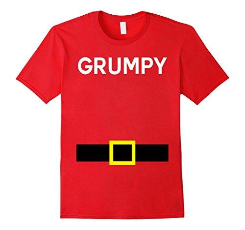 Halloween Dwarf Costume (Mens Grumpy Dwarfs 7 Seven Halloween Costume TShirts Matching Large)
