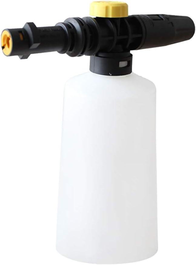 Autocare Lance Cannon de Espuma para esquís Karcher K2 K3 K4 K5 K6 K7 750 ml Botella de jabón Pistola