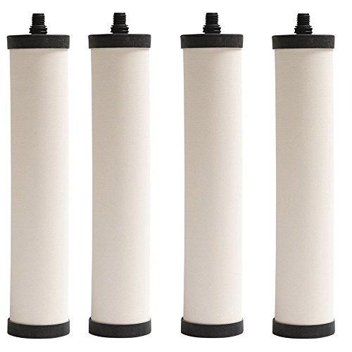 Franke FRX02 Undersink Water Filtration Filter for FRCNSTR, Chlorine (Pack of 4)