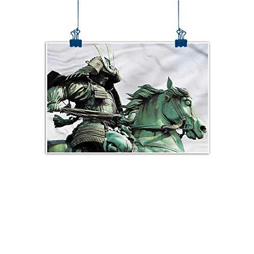 Living Room Decorative Painting Sculptures Samurai Warrior Horse Modern Minimalist Atmosphere 28
