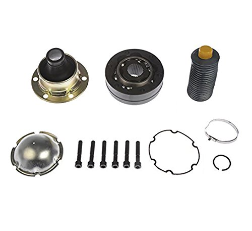 Front Drive Shaft Rear CV Joint Boot Repair Kit for Ford Explorer Ranger Mercury Mountaineer Lincoln Aviator Mazda B2300 B2500 B3000 B4000 Pickup Truck 4WD 4×4