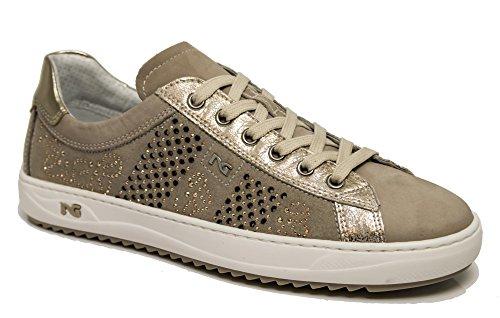 Sabbia DE Sabana DE Beige Zapatos 5090 P805100D Zapatilla Deportivos Giardini 410 Beige Color Deporte Nero Af7wq6S