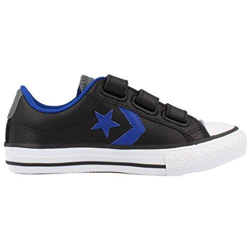 Converse Sp 3V Lea Ox - Zapatillas bajas infantil Negro