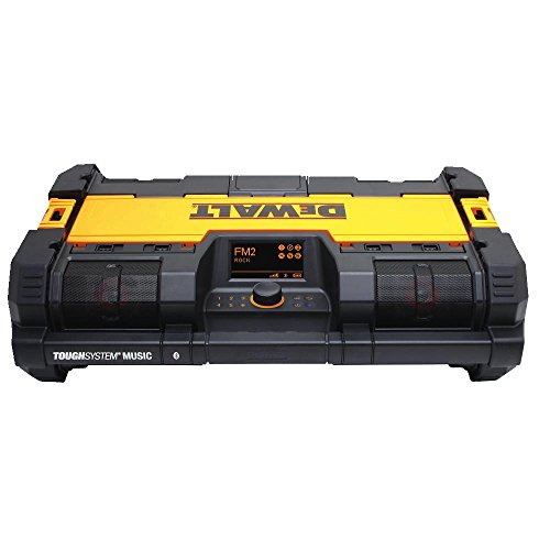 DEWALT DWST08810 ToughSystem Music Player with Charger (Battery And Radio Dewalt Charger)