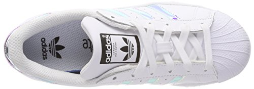 J Low Top Kinder adidas Metallic Silver Ftwr Weiß Unisex sld Superstar White Ftwr White IwBqtH