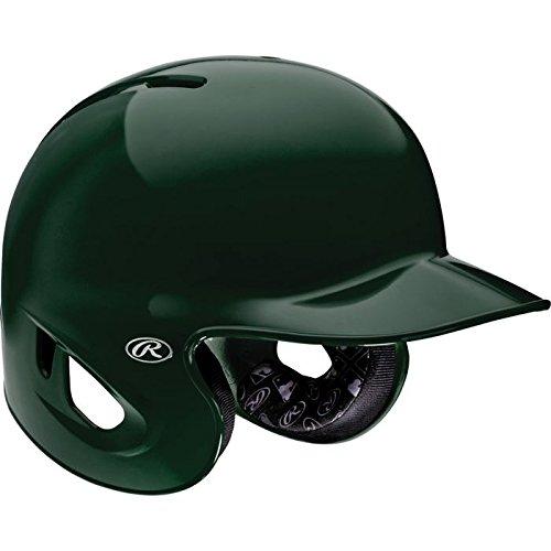 Rawlings Adult 90 MPH Performance Batting Helmet DARK GREEN L by Rawlings