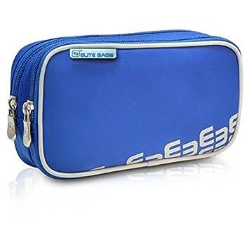 Elite Bags DIAS | Bolsa isotérmica diabético azul | Estuche isotérmico para diabéticos | Conserva la insulina a la temperatura adecuada | Medidas: 19 ...