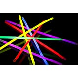 "8"" Glow Stick Bracelets (tube of 100 assorted)"
