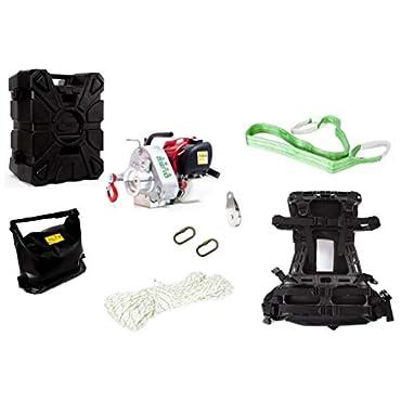 Portable Capstan Winch Assortment 1,550-Lb. Line Pull, Model# PCW3000-HK