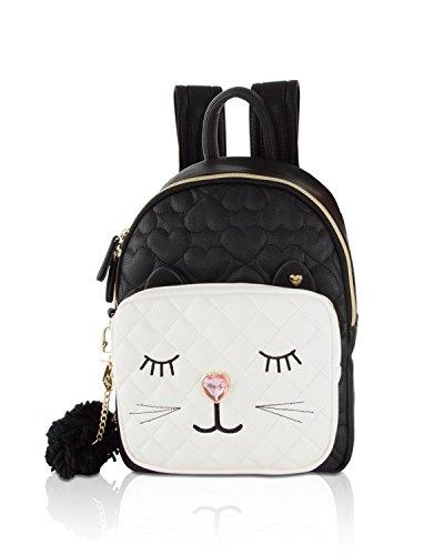 Betsey Johnson Women's Medium Backpack Black One Size