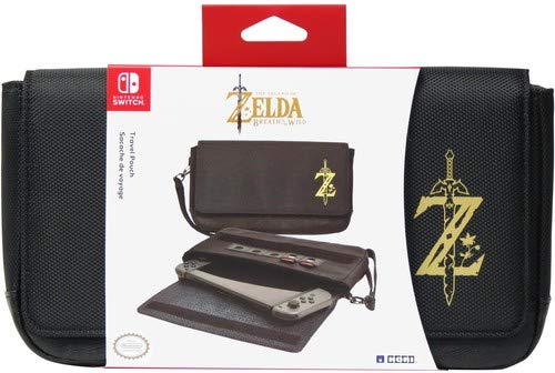 Nintendo Switch Travel Pouch (Zelda Breath of The Wild Edition) Officially Licensed by Nintendo