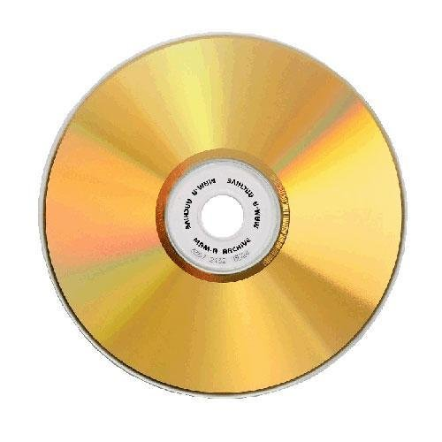 Gold Archive 74 minute CD-R with no logo in jewel case - 25 Pack MAM-A LYSB00065DG0U-CMPTRACCS