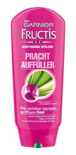 Garnier Fructis Prachtauffüller kräftigende Spülung / Conditioner für sichtbar üppiges, griffiges Haar (mit Fibra-Cylane & Granatapfel-Extrakt) 6er Pack - 200 ml