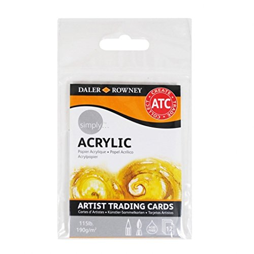 [해외]단순히 예술가 아크릴 트레이딩 카드 / Simply Artist Acrylic Trading Cards